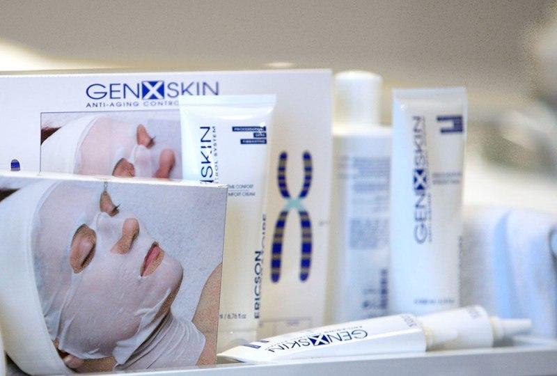 Уход за кожей средствами GENXSKIN-3
