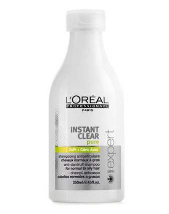 SÉRIE EXPERT INSTANT CLEAR PURE Шампунь против перхоти для натуральных волос 250 мл