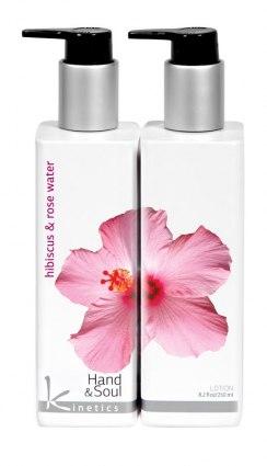 Лосьон для рук и тела Гибискус и Розовая вода