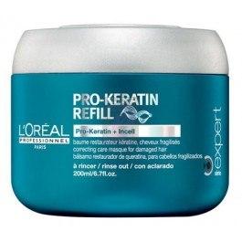LOréal PRO-KERATIN REFILL Маска восстанавливающая и укрепляющая с кератином 200 мл