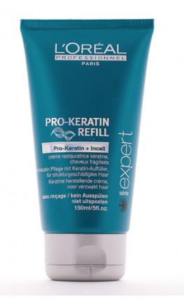 Крем-уход защищающий для ослабленных волос, несмываемый, ПРО-КЕРАТИН РЕФИЛ, 150мл, LOREAL Professional