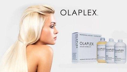Уход OLAPLEX при окрашивании