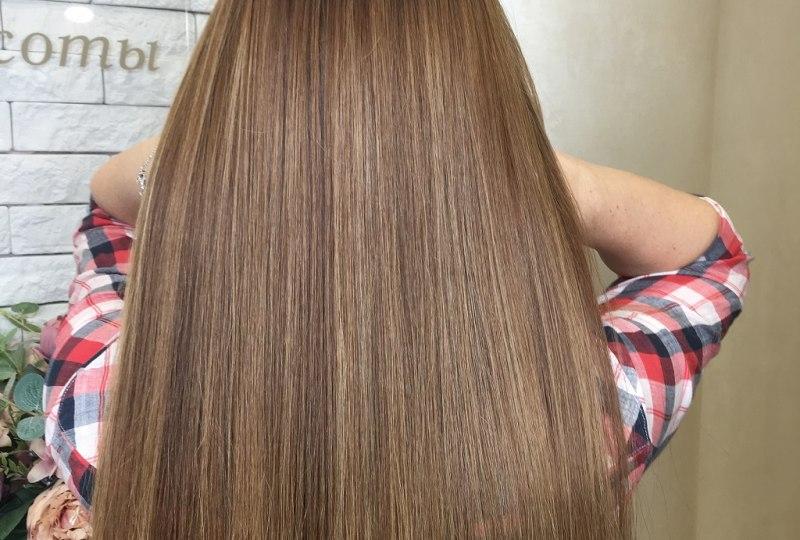 Кератиновые уходы GREYMY. Выпрямление волос-5