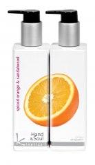Лосьон для рук Пряный апельсин и Сандаловое дерево